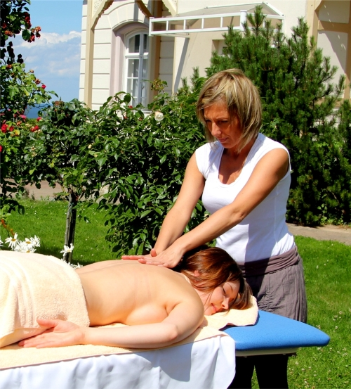 Open Air Wellness Massage im Freien