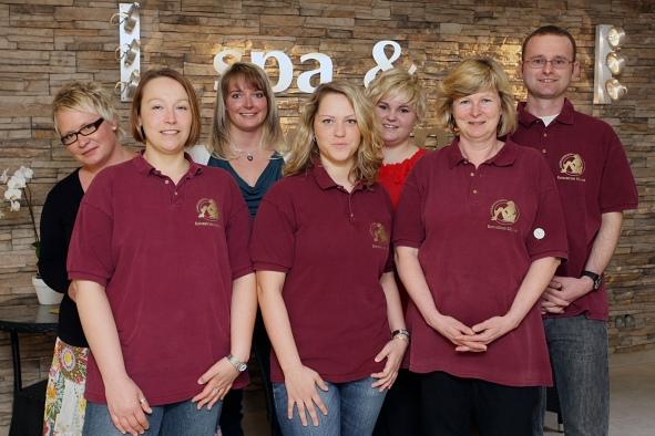Team vom Wellnesscenter auf Rügen