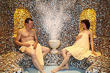 Dampfbad im AKZENT Kur- und Wellness Hotel Mönchgut