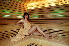 Sauna im AKZENT Kur- und Wellness Hotel Mönchgut